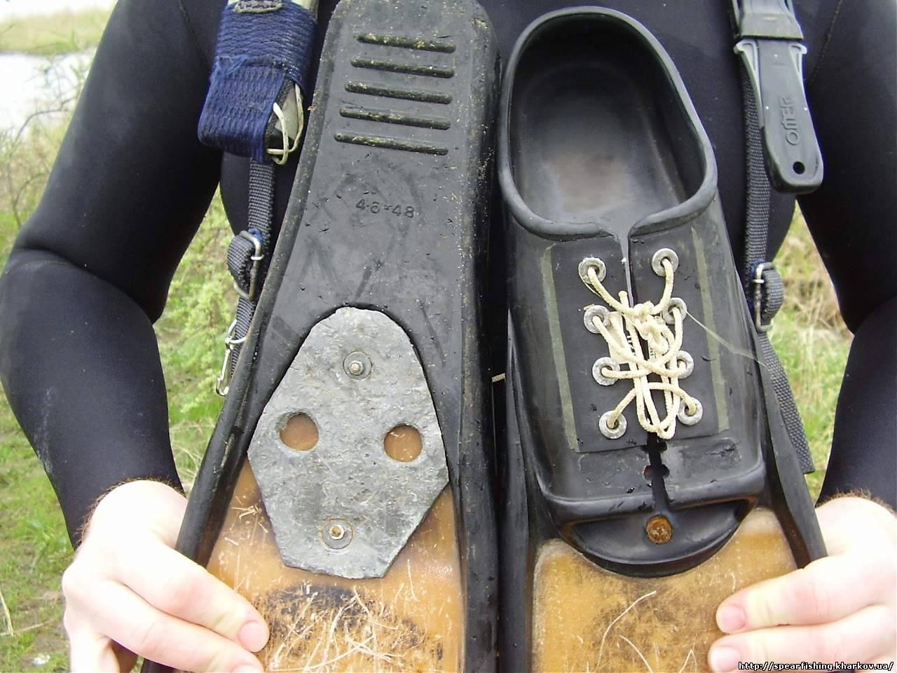 Грузы на ноги для подводной охоты своими руками