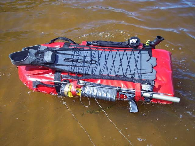 Буя для подводной охоты своими руками