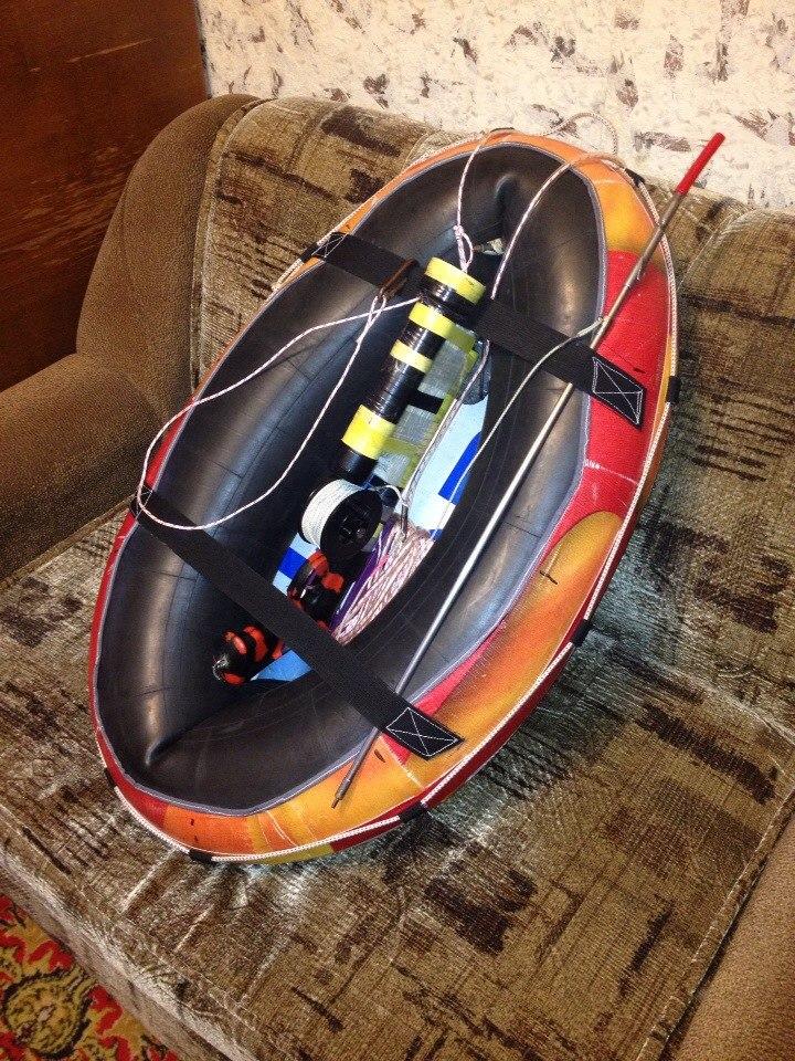 Плотик для подводной охоты своими руками