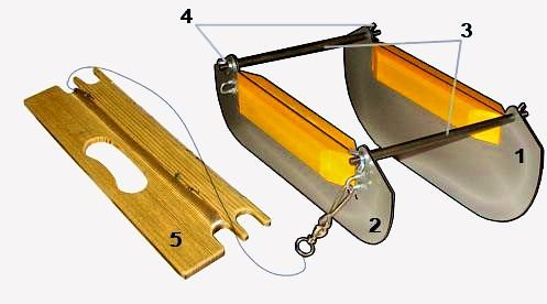 Как сделать реверсивный кораблик для ловли рыбы на реках. чертежи ...