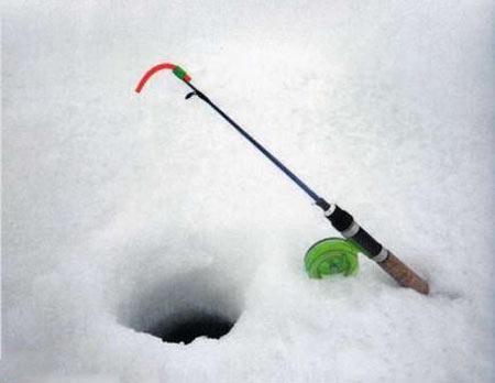 Ловля зимой на мини-балду